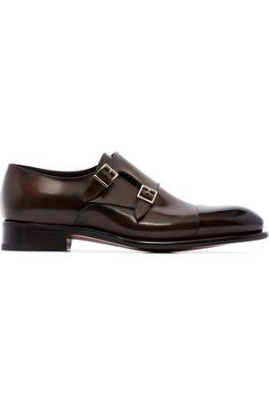 Santoni Monk-Schuhe mit doppeltem Riemen
