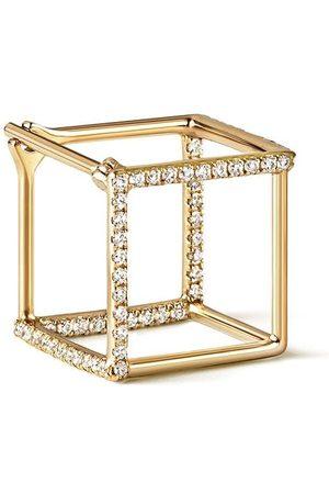 Shihara Quadratischer Ohrring mit Diamanten