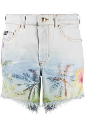 VERSACE Shorts mit Print
