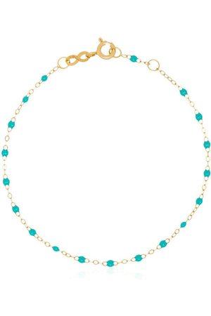 GIGI CLOZEAU 18kt Gelbgoldarmband mit Perlen