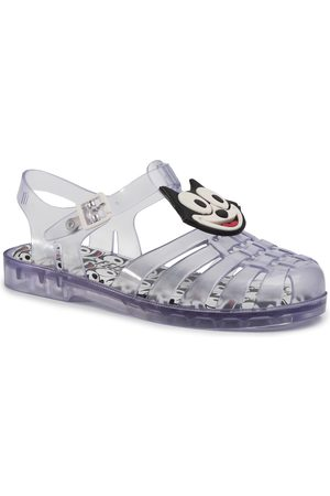 Melissa Possession + Gato Feli 32617 Clear/White/Black 53617