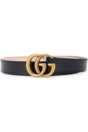 Gucci Kids Gürtel mit Logo-Schnalle