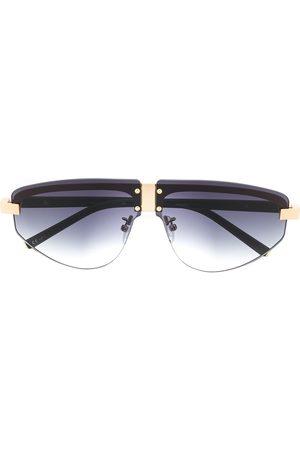 Linda Farrow Oversized-Sonnenbrille