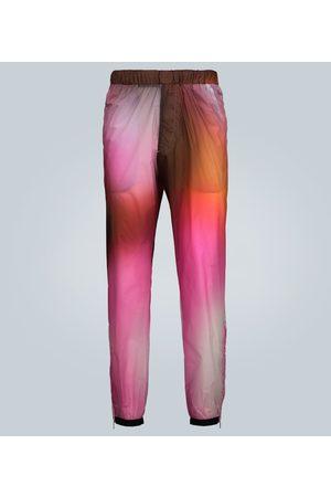 Prada Men Damen Stoffhosen - Exklusiv bei Mytheresa – Bedruckte Hose aus Tech-Material