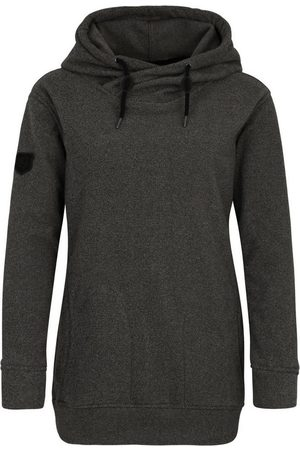 DEPROC-Active Kapuzensweatshirt »SWEAT ALBERTA WOMEN« aus funktionalem Piqué-Fleece