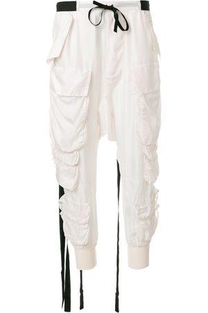 Unravel Project Jogginghose mit aufgesetzten Taschen