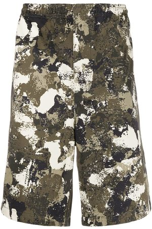 MARCELO BURLON Bermuda mit Camouflage-Print