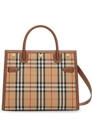 Burberry Damen Handtaschen - Mittelgroße Handtasche mit Vintage-Check