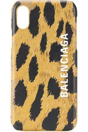 Balenciaga IPhone XS-Hülle mit Leo-Print