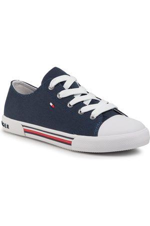 Tommy Hilfiger Low Cut Lace-Up Sneaker T3X4-30692-0890 S Blue 800