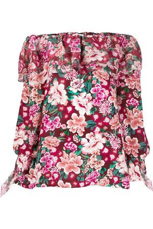 FAITH CONNEXION Damen Bedruckte Kleider - Tunikakleid mit Blumen-Print
