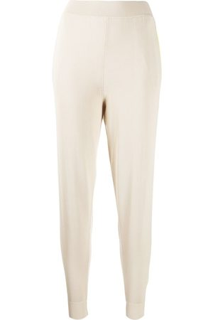 Stella McCartney High-waisted knitted track pants