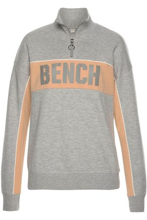 Bench Sweatshirt »Contrast« im Color-Blocking Design mit Logoprint