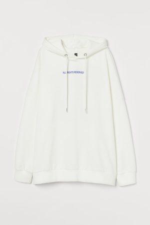 H&M Kapuzenshirt aus Baumwolle