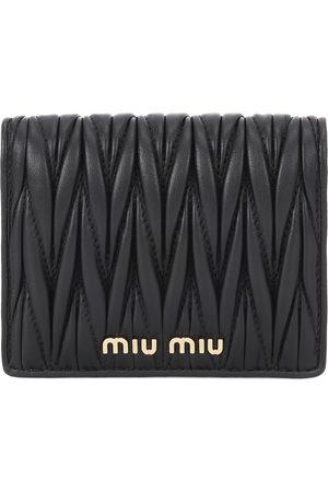 Miu Miu Damen Geldbörsen & Etuis - Kleines Portemonnaie aus Leder