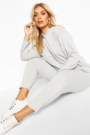 Boohoo Womens Plus Hoody & Jogger Set - - 42