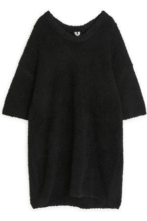 ARKET Oversized Heavy-Knit Dress