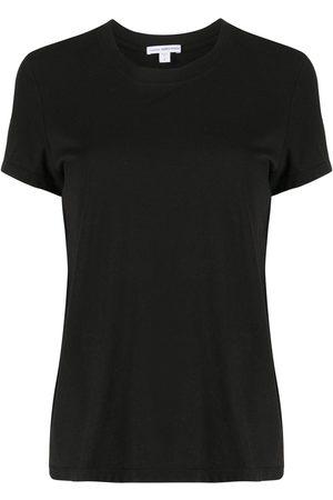 James Perse T-Shirt mit rundem Ausschnitt