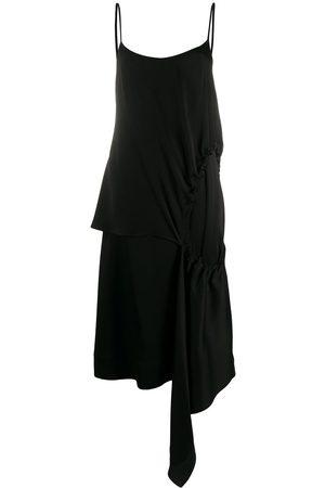Colville Asymmetrisches Kleid mit Raffung