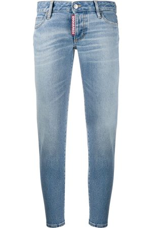 Dsquared2 Schmale Cropped-Hose