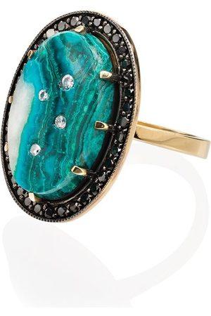 Andrea Fohrman Damen Ringe - 18kt Gelbgoldring mit Diamanten