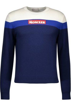Moncler Logo-Rundhalspullover