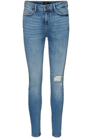 Vero Moda Vmhanna Normal Waist Skinny Fit Jeans Damen