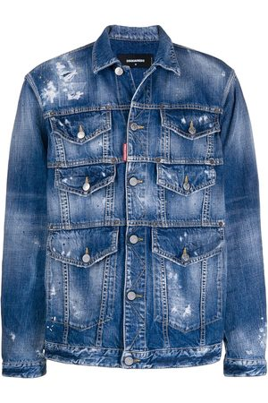 Dsquared2 Jeansjacke im Used-Look