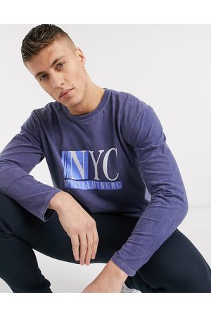 New Look – NYC – Langärmliges Shirt in