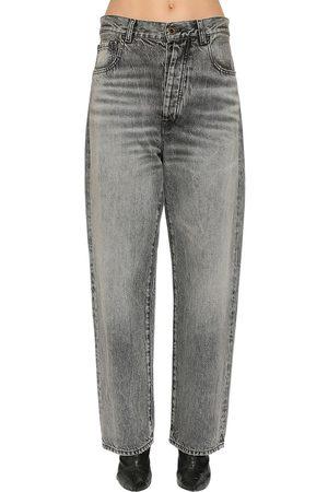 UNRAVEL Baggy Cotton Denim Jeans