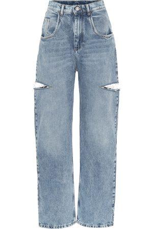 Maison Margiela High-Rise Jeans mit weitem Bein