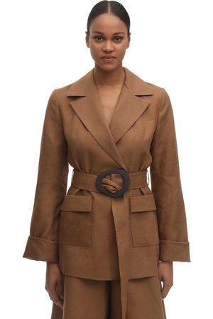 Liya Linen Blend Jacket