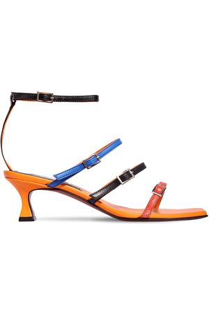 MANU Damen Sandalen - 50mm Naomi Leather Sandals