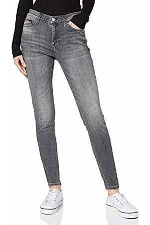 Tommy Jeans Damen Nora Mid Rise Skinny Mrckg Straight Jeans