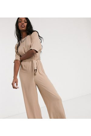 ASOS ASOS DESIGN Tall – Jumpsuit mit Bindegürtel