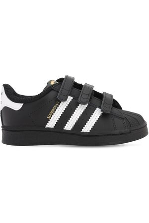 adidas Superstar Leather Strap Sneakers