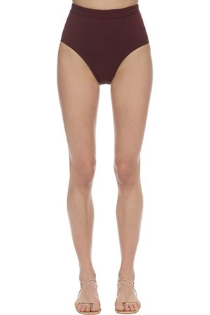 Bondi Born Tatiana Lycra High Waist Bikini Bottoms