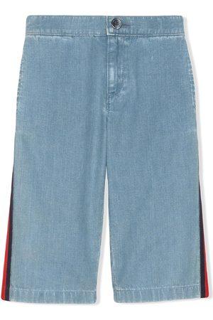 Gucci Jeans mit Web