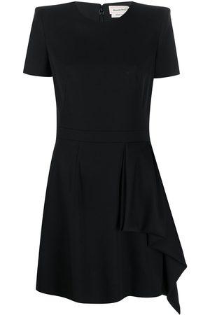 Alexander McQueen Kleid mit akzentuierten Schultern