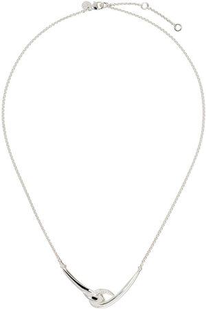 SHAUN LEANE Hook' Halskette mit Diamanten