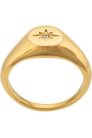 Nialaya Ring mit Sterngravur