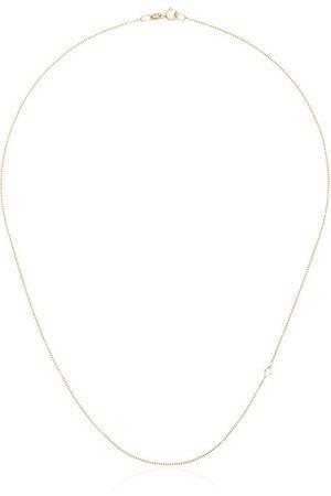 Lizzie Mandler 18kt Gelbgoldhalskette mit Diamanten