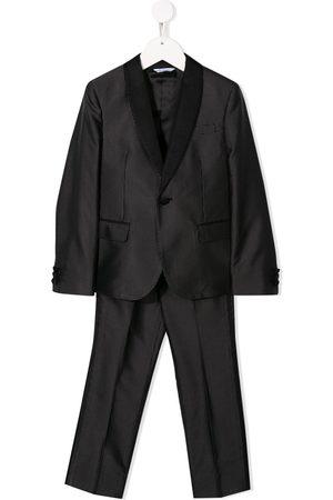 Dolce & Gabbana Jungen Anzüge - Polka dot print two-piece suit