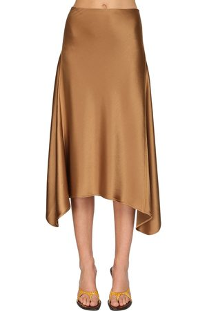 Sies marjan Damen Midiröcke - Asymmetric Knee Length Skirt