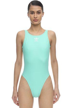 adidas Trefoil Logo One Piece Swimsuit