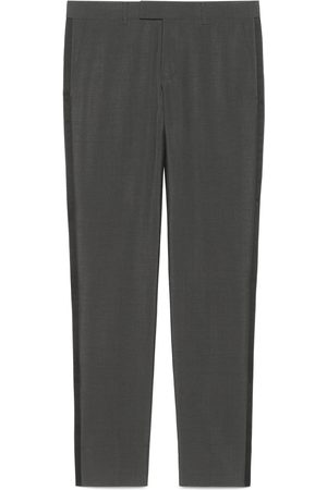 Gucci Heritage Hose aus Mohairwolle