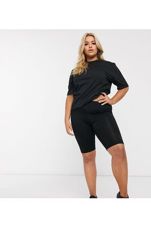 ASOS ASOS DESIGN Curve basic legging shorts