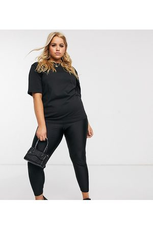 ASOS ASOS DESIGN Curve – Disco-Leggings