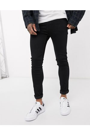 Levi's Levi's Youth – 519 Hi-Ball Roll –Schwarze Jeans mit Advanced-Stretch in Stylo-Waschung