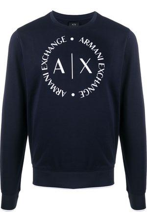 Armani Herren Sweatshirts - Sweatshirt mit Logo-Print